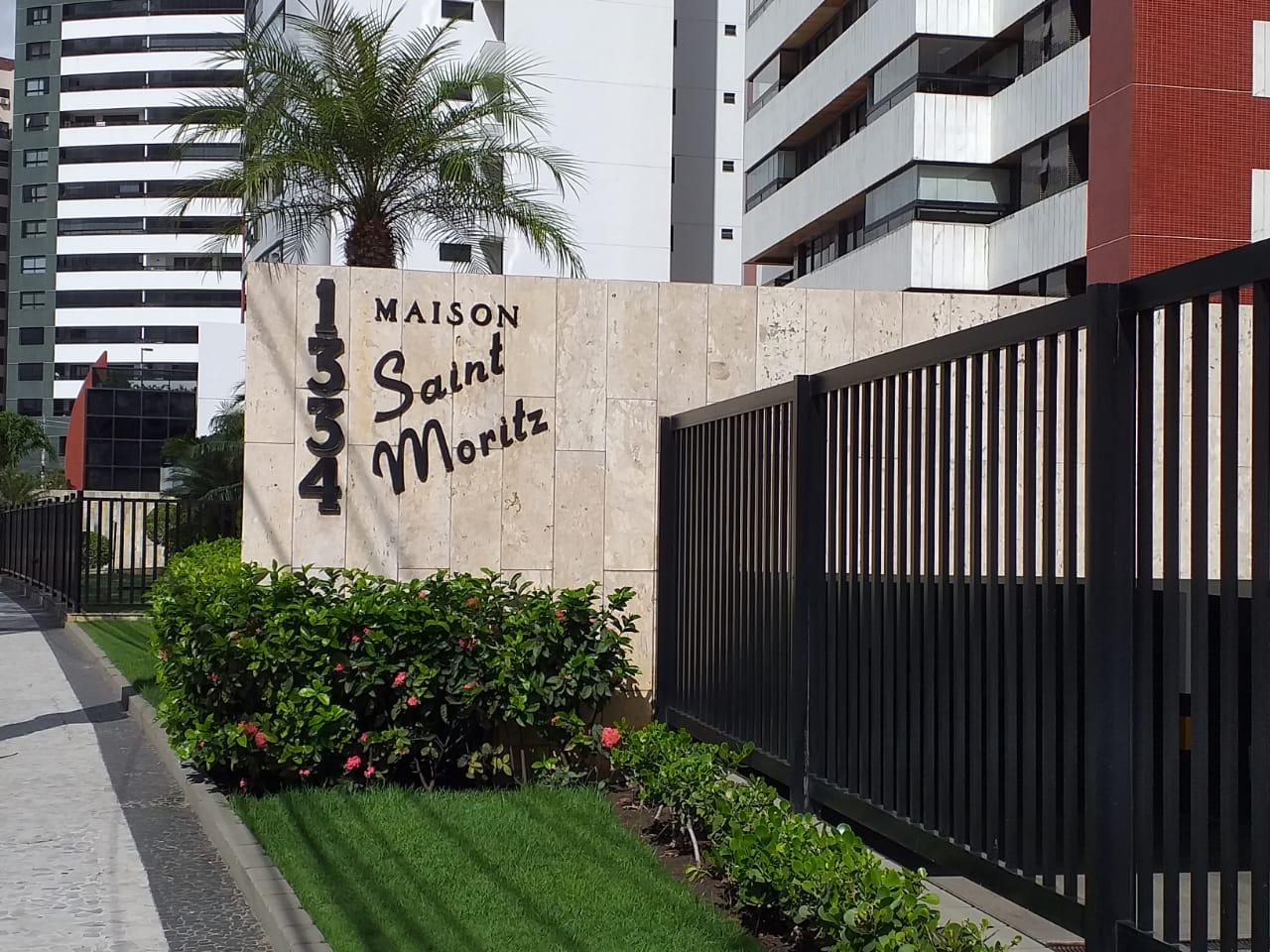 APARTAMENTO NA MANSÃO SAINT MORITZ, NA AVENIDA BEIRA MAR