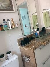 banheiro social cuba pocelanato area seca atualizada