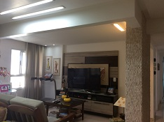 sala tv coluna marmore atualizada